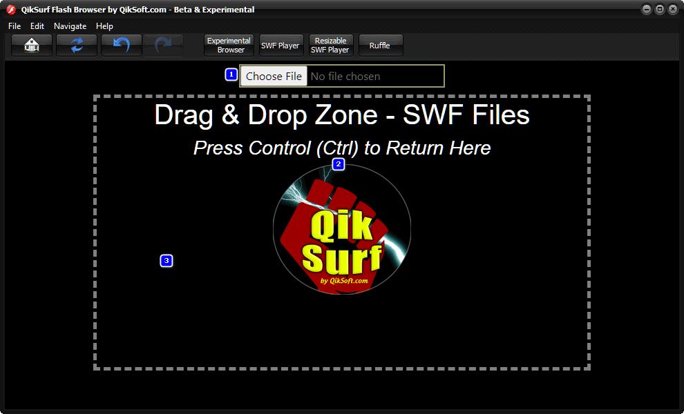 Free Flash Browser - QikSurf 4