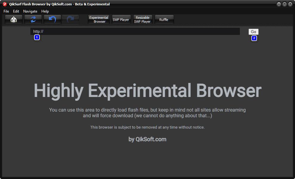 Free Flash Browser - QikSurf 3