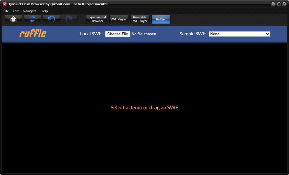 Free Flash Browser - QikSurf 6
